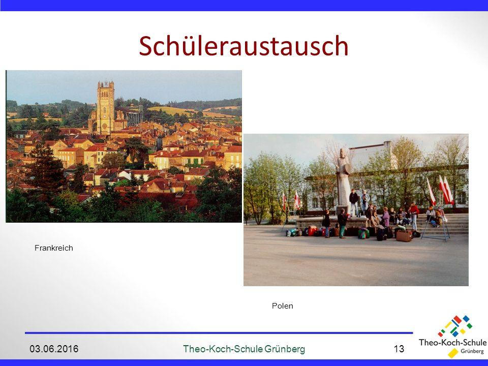 Schüleraustausch 03.06.2016Theo-Koch-Schule Grünberg13 Frankreich Polen