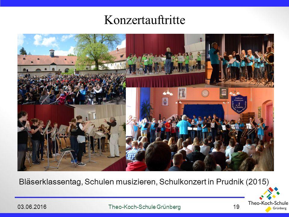 03.06.2016Theo-Koch-Schule Grünberg19 Konzertauftritte Bläserklassentag, Schulen musizieren, Schulkonzert in Prudnik (2015)