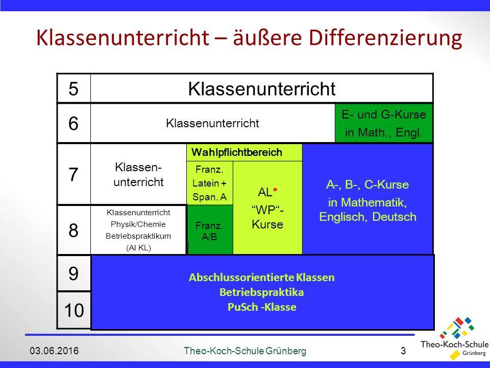 Wander-/Studienfahrten 03.06.2016Theo-Koch-Schule Grünberg14