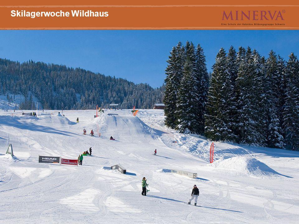 6 Haupttitel Arial Bold, 20 Punkt Skilagerwoche Wildhaus