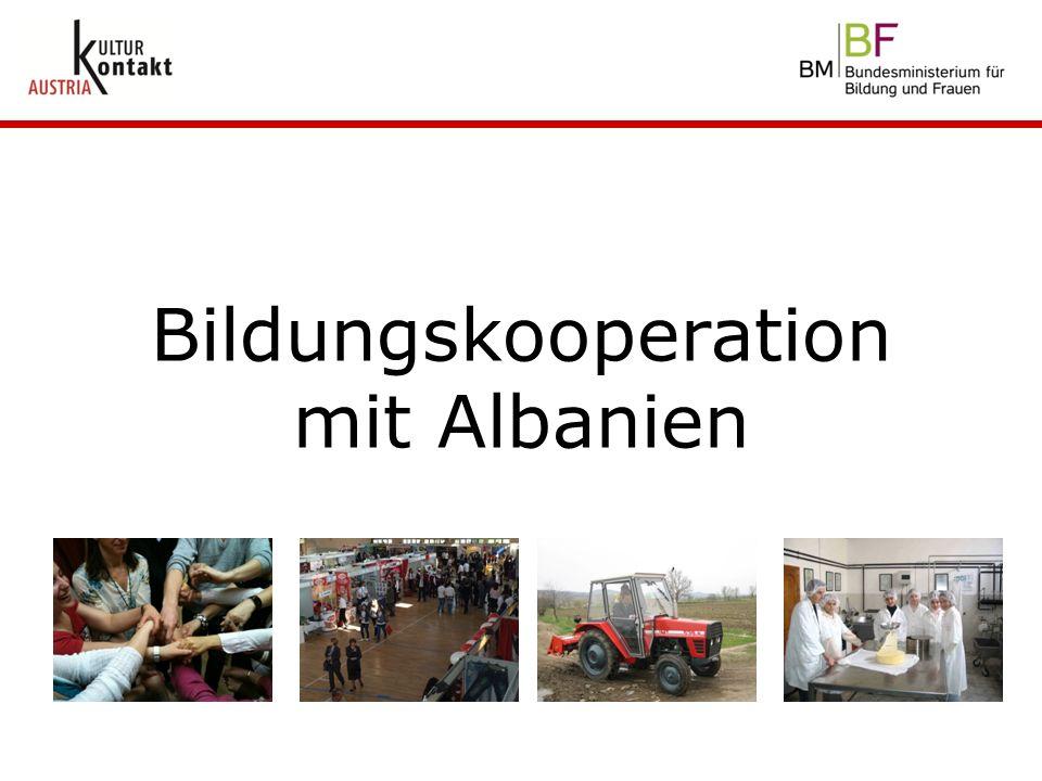Bildungskooperation mit Albanien