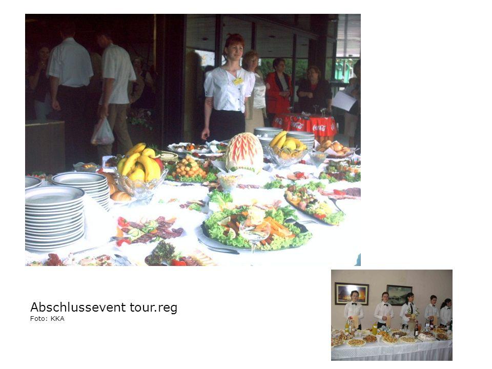 Abschlussevent tour.reg Foto: KKA