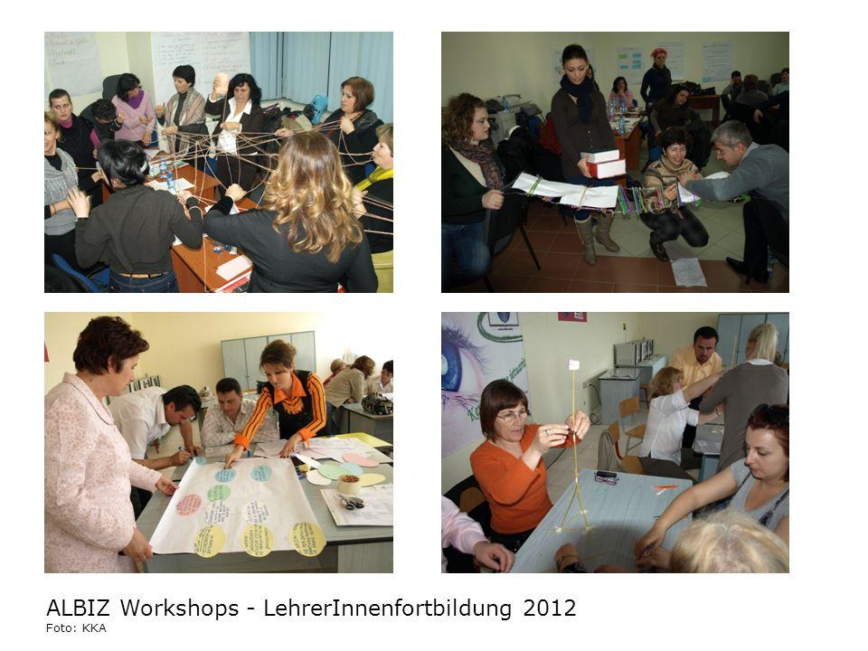 ALBIZ Workshops - LehrerInnenfortbildung 2012 Foto: KKA