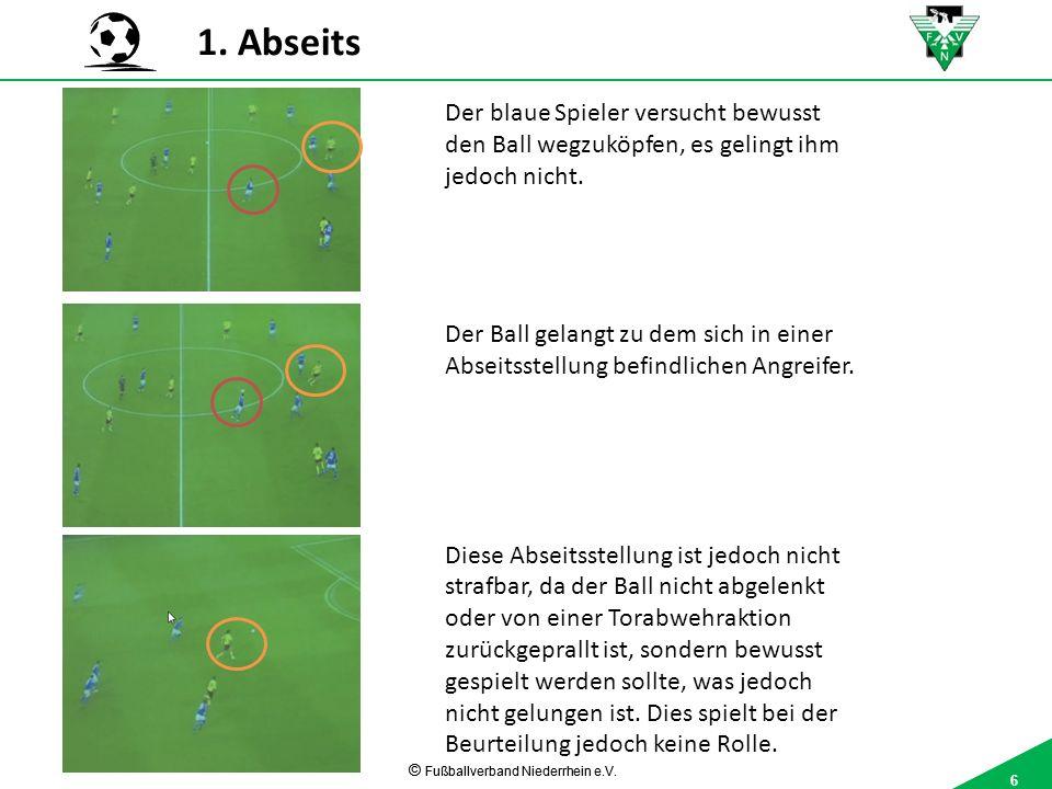 6 © Fußballverband Niederrhein e.V. 6 1.