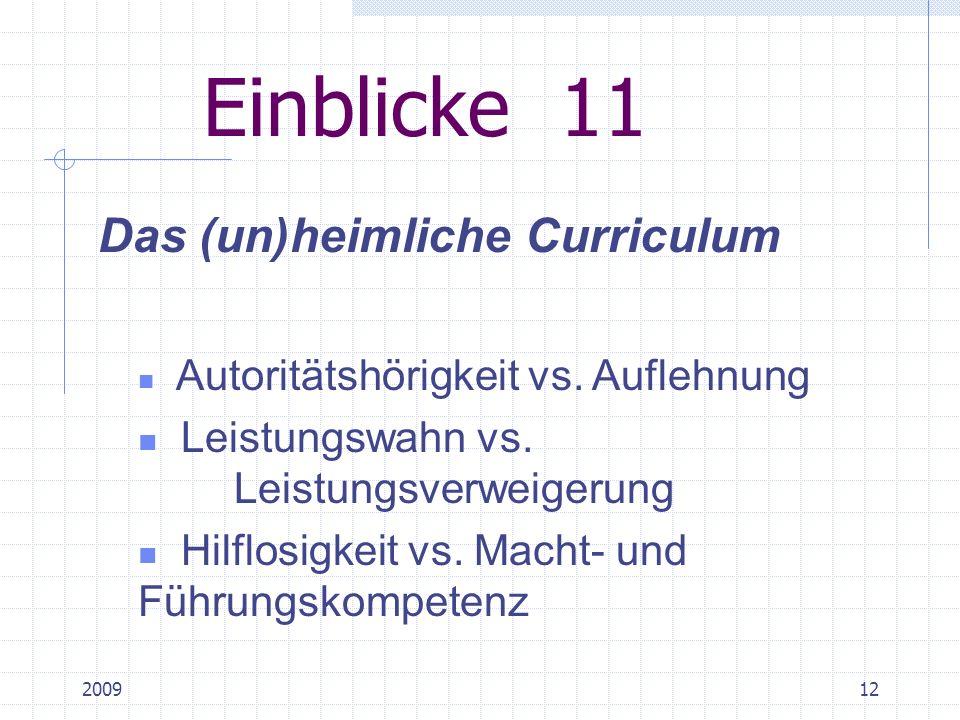 200911 Einblicke 9 Funktionen der Schule Selektion Qualifikation Integration