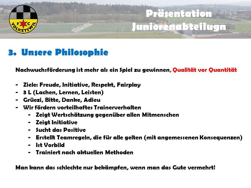 Präsentation Juniorenabteilugn 3.