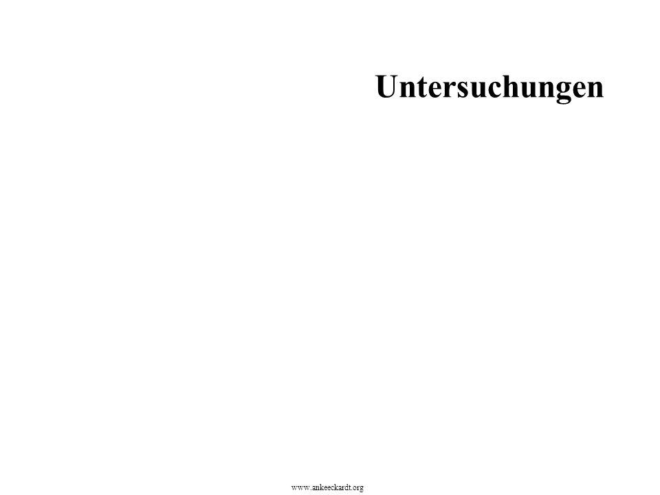 Untersuchungen www.ankeeckardt.org