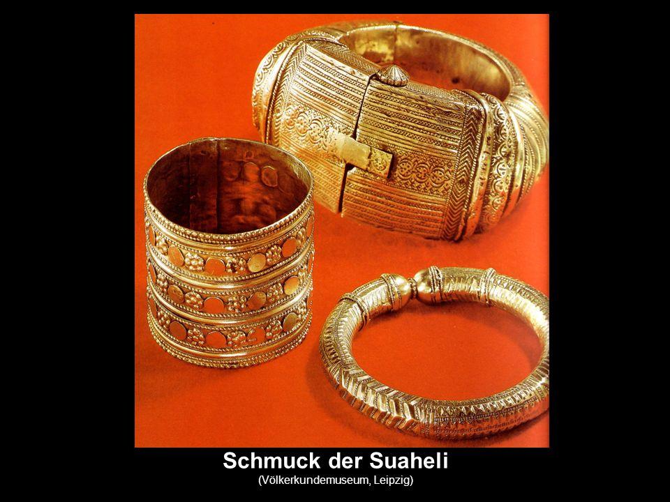 Schmuck der Suaheli (Völkerkundemuseum, Leipzig)
