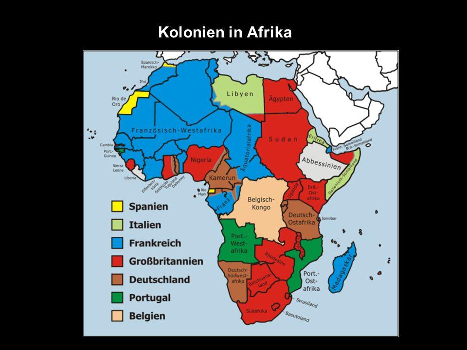 Kolonien in Afrika