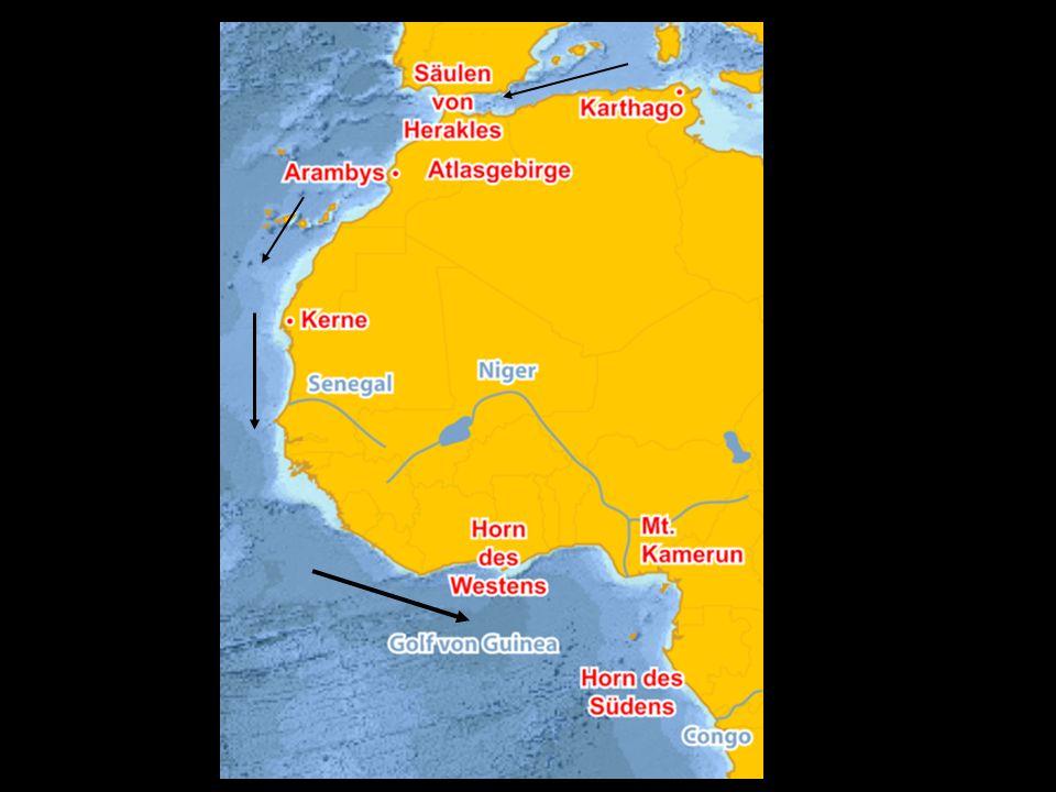 Herodots Karte 5. Jh.