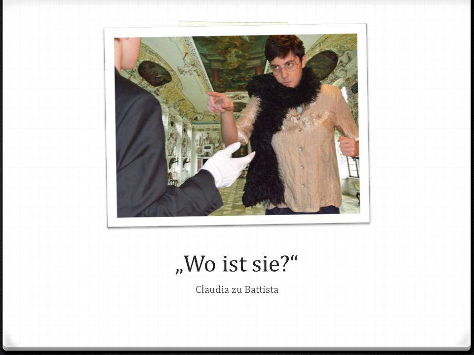 """""""Dich! Dich Kuppler! Claudia zu Marinelli"""