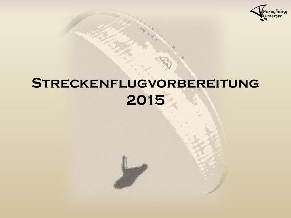 Streckenflugvorbereitung 2015