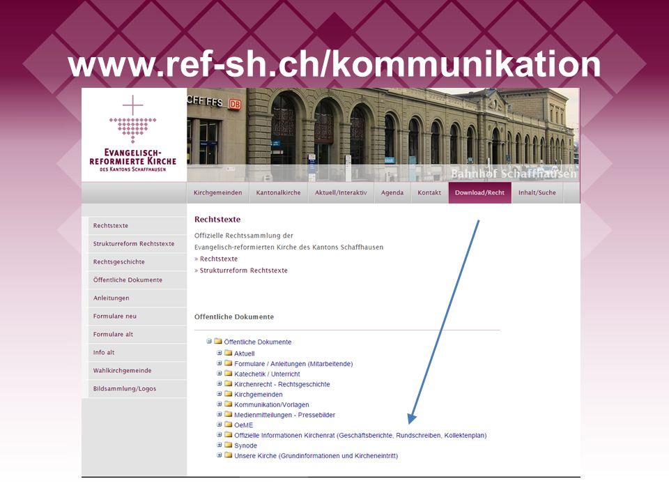 www.ref-sh.ch/kommunikation