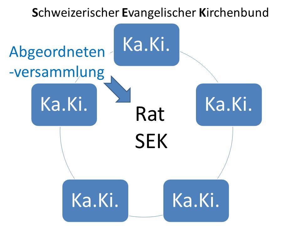 Schweizerischer Evangelischer Kirchenbund Ka.Ki. Abgeordneten -versammlung Rat SEK