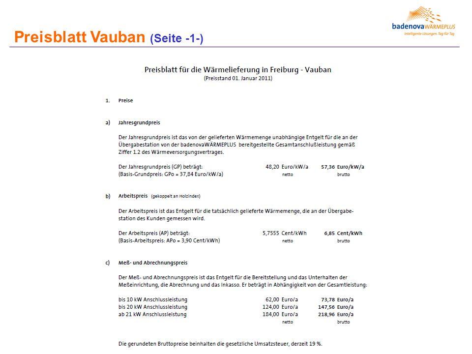 Preisblatt Vauban (Seite -1-)