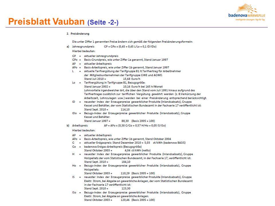 Preisblatt Vauban (Seite -2-)