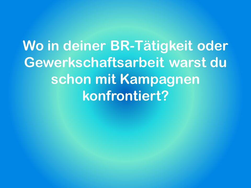 Recherche Wie präsentiert sich das Unternehmen in der Öffentlichkeit (Leitspruch, …).