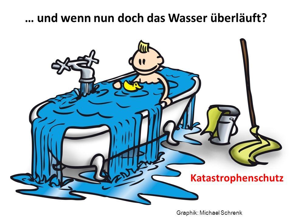 Graphik: Michael Schrenk … und wenn nun doch das Wasser überläuft Katastrophenschutz