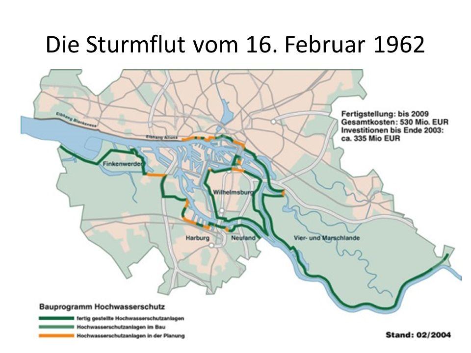 Die Sturmflut vom 16. Februar 1962
