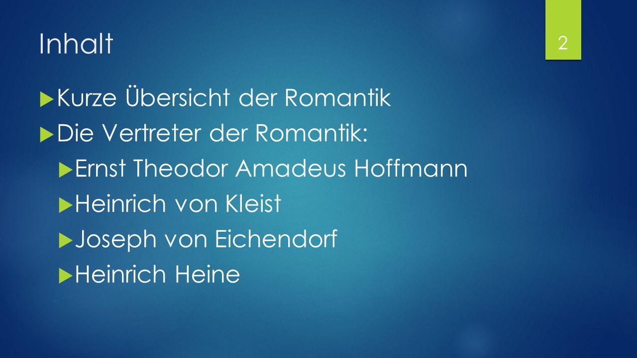 Die deutschen Romantiker KUSHLYAEVA VASILISA, 3181