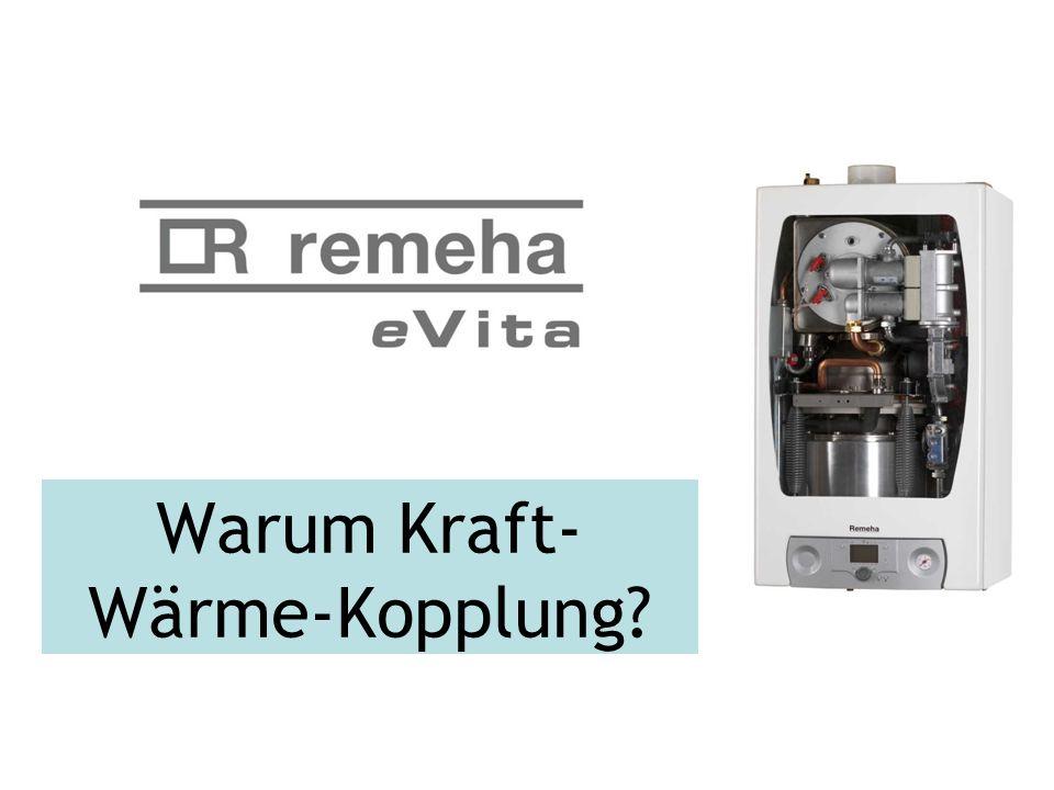 Warum Kraft- Wärme-Kopplung?