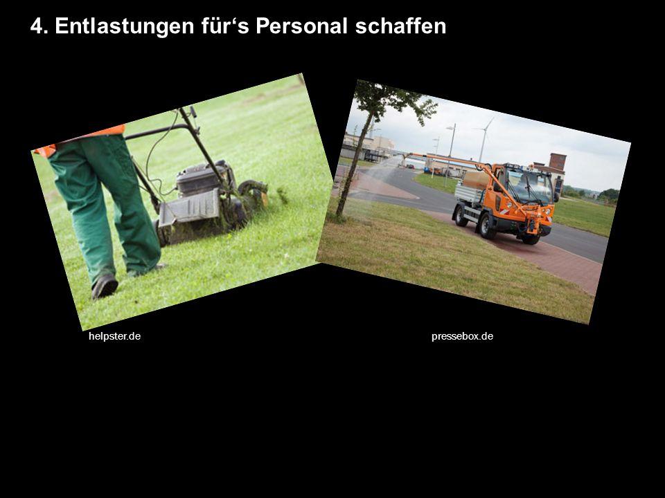 4. Entlastungen für's Personal schaffen helpster.de pressebox.de