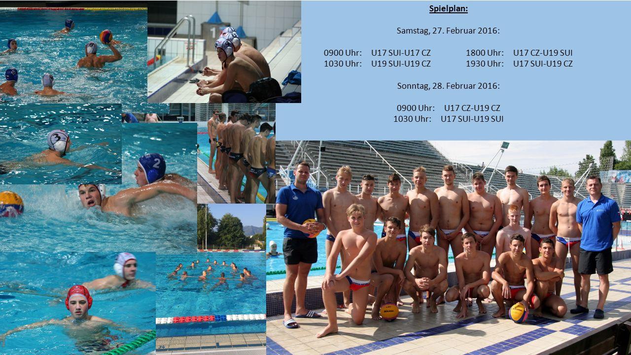 Erstes Internationales Turnier U17/U19 im Centro Sportivo Tenero, Freitag, 26.- Sonntag, 28.