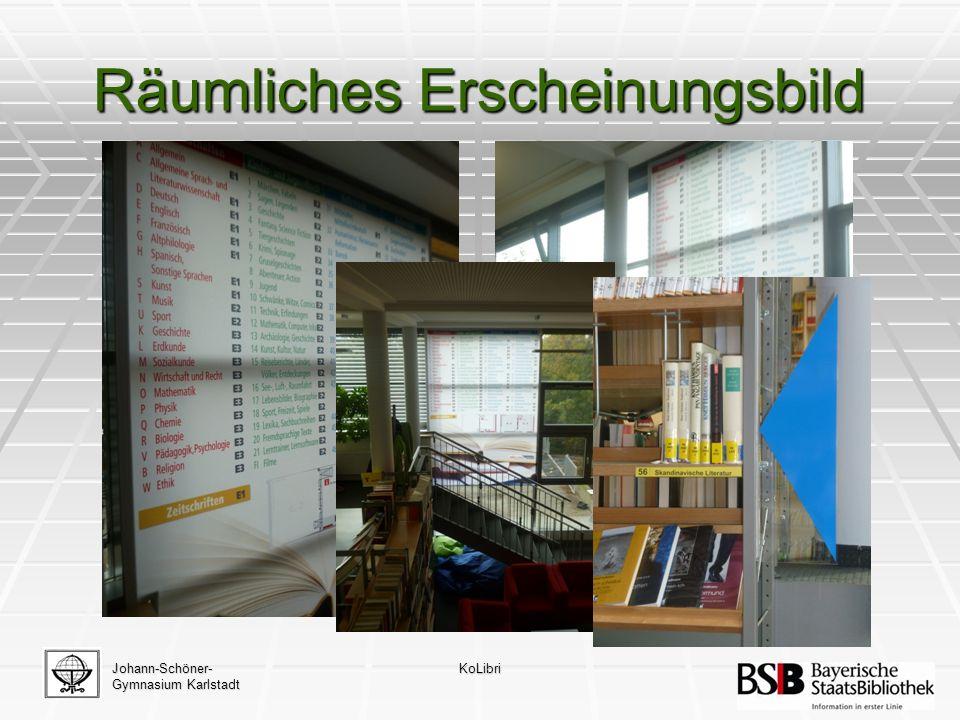 Johann-Schöner- Gymnasium Karlstadt KoLibri Recherche-Navigation
