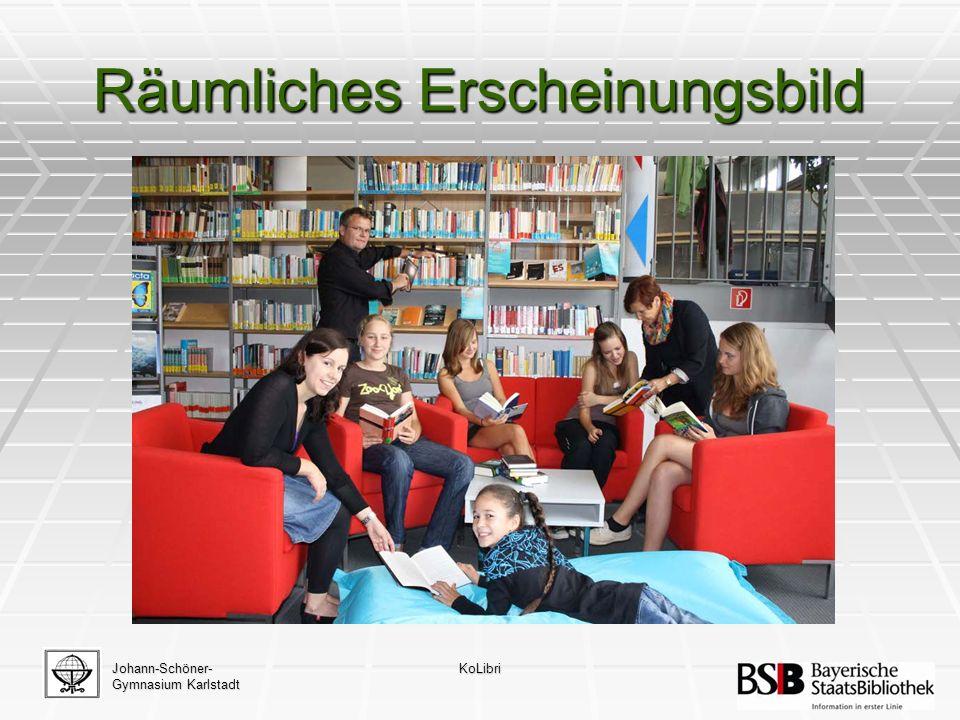 Räumliches Erscheinungsbild Johann-Schöner- Gymnasium Karlstadt KoLibri