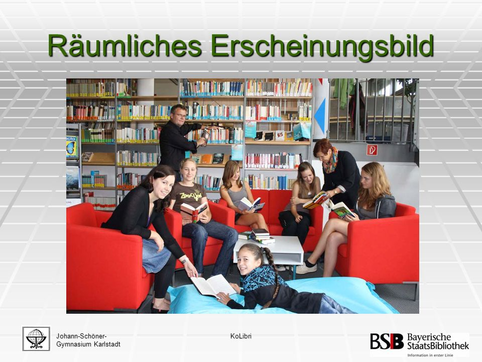 Johann-Schöner- Gymnasium Karlstadt KoLibri Kallimachos Eingabemaske