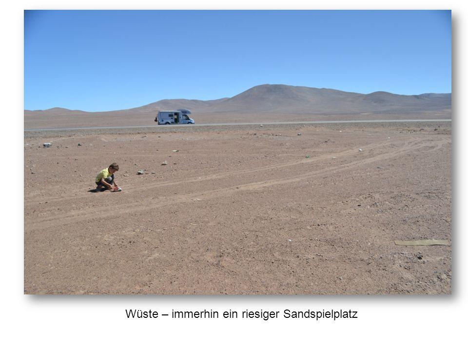Am Stellplatz in Antofagasta