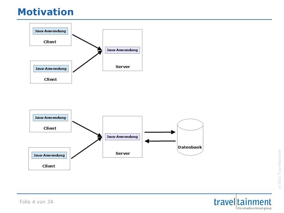 © 2012 TravelTainment Java Naming and Directory Interface  Dienst im Application Server  Eine Art DNS-Server für Objekte www.traveltainment.de.