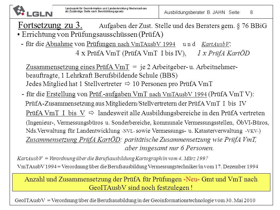 Ausbildungsberater B. JAHN Seite: 8 Fortsetzung zu 3.