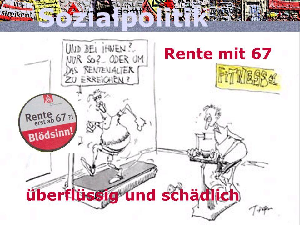 www.arbeitnehmerkammer.de/sozialpolitikJanuar 2007 Lohn »neben« kosten Kosten einer Handwerker- Stunde 43,47 € Quelle: Arbeitsgemeinschaft der bayerischen Handwerkskammern, München, März 2006 2,55 € ArbGeb-Beiträge zur RV, KV, PV und BA (20,5%) 2,16 € gesetzliche Sozialaufwendungen (ohne SV) 12,46 € Bruttolohn 5,49 € tarifliche Sozialaufwendungen 1,08 € Sonstige freiwillige Sozialaufwendungen 13,12 € Betriebliche und kalkulatorische Gemeinkosten 0,61 € Zuschlag für Unternehmerrisiko und -gewinn 6,00 € 16% MwSt
