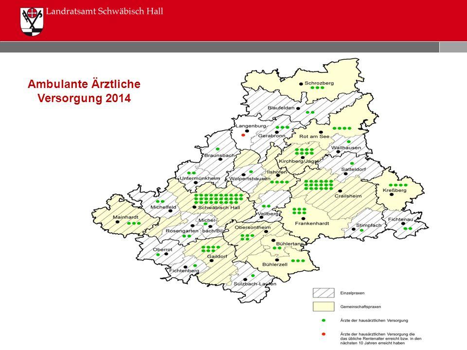 Ambulante Ärztliche Versorgung 2014
