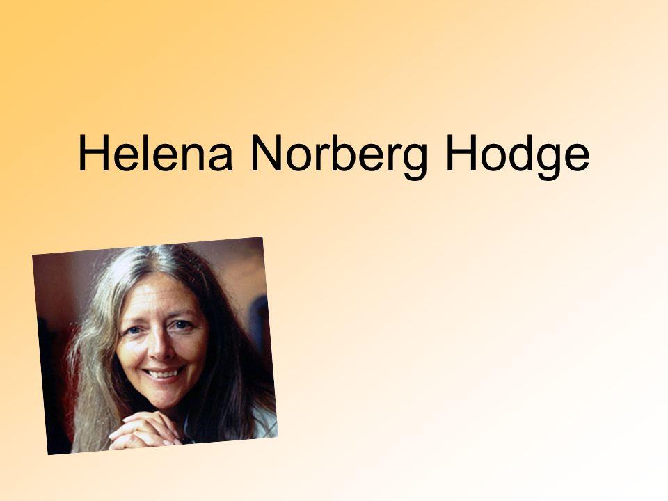 Helena Norberg Hodge
