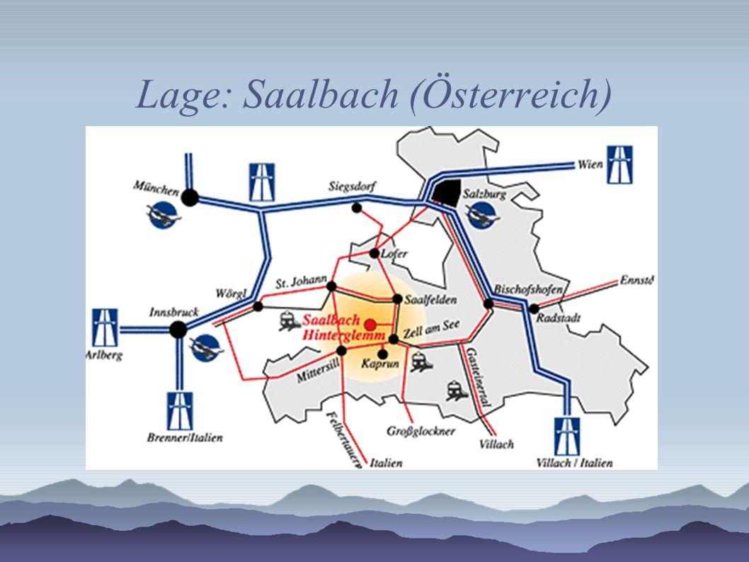 Lage: Saalbach (Österreich)