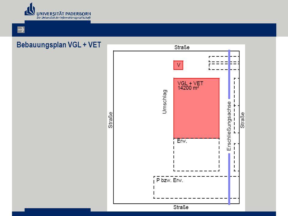 Bebauungsplan VGL + VET