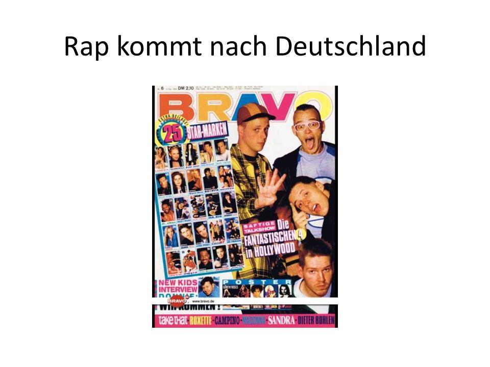 Rap kommt nach Deutschland