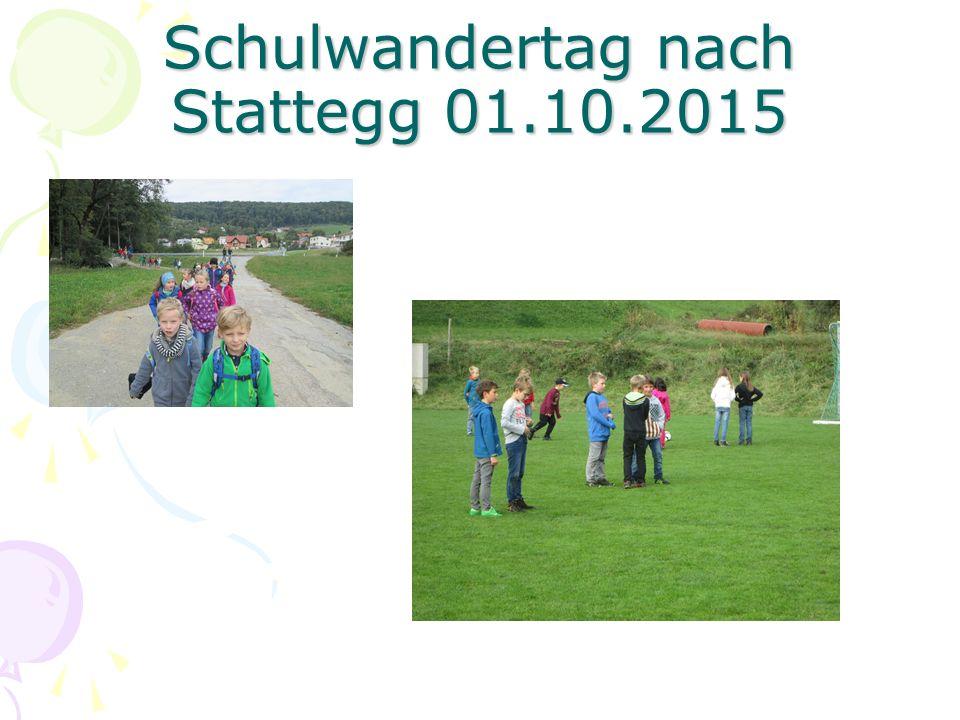 Schulwandertag nach Stattegg 01.10.2015