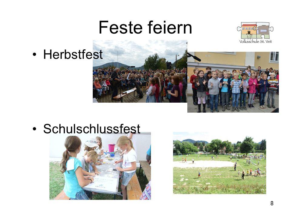 Feste feiern Herbstfest Schulschlussfest 8