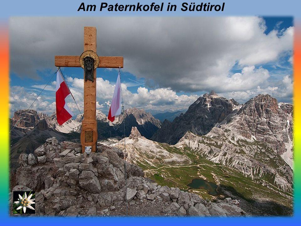 Am Paternkofel in Südtirol