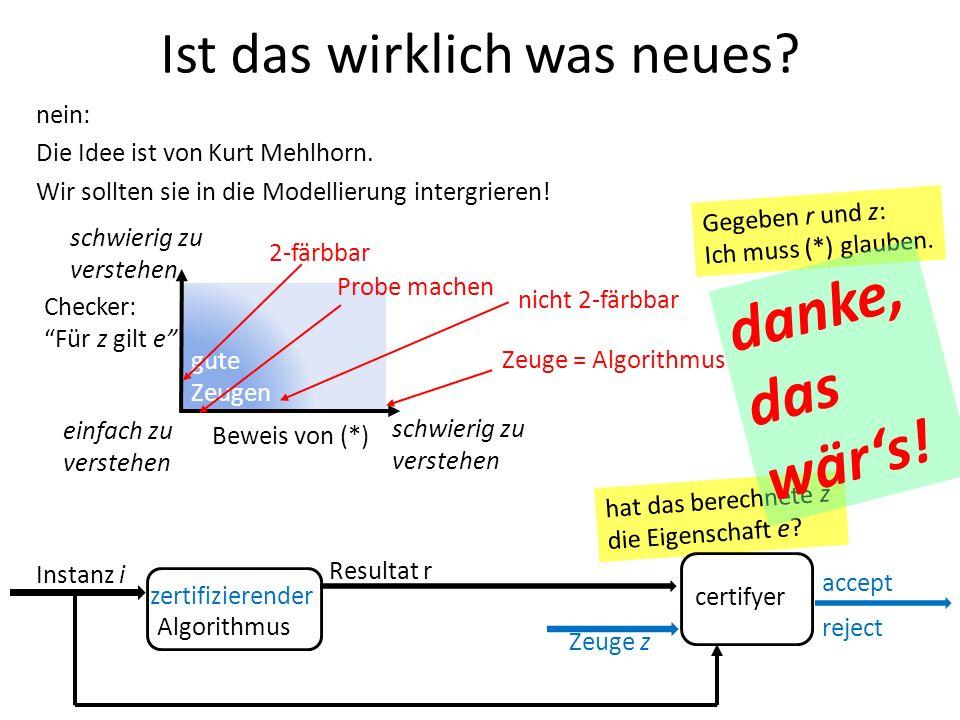 nein: Die Idee ist von Kurt Mehlhorn. Wir sollten sie in die Modellierung intergrieren.