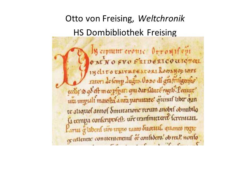 Otto von Freising, Weltchronik HS Dombibliothek Freising