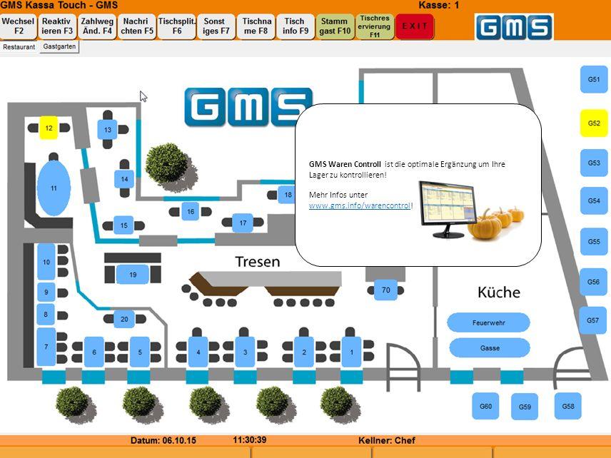 GMS Waren Controll ist die optimale Ergänzung um Ihre Lager zu kontrollieren.