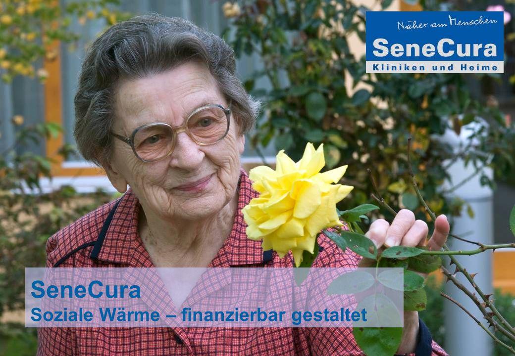 SeneCura Soziale Wärme – finanzierbar gestaltet
