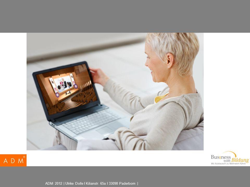 ADM 2012 | Ulrike Dolle I Kilianstr. 65a I 33098 Paderborn |