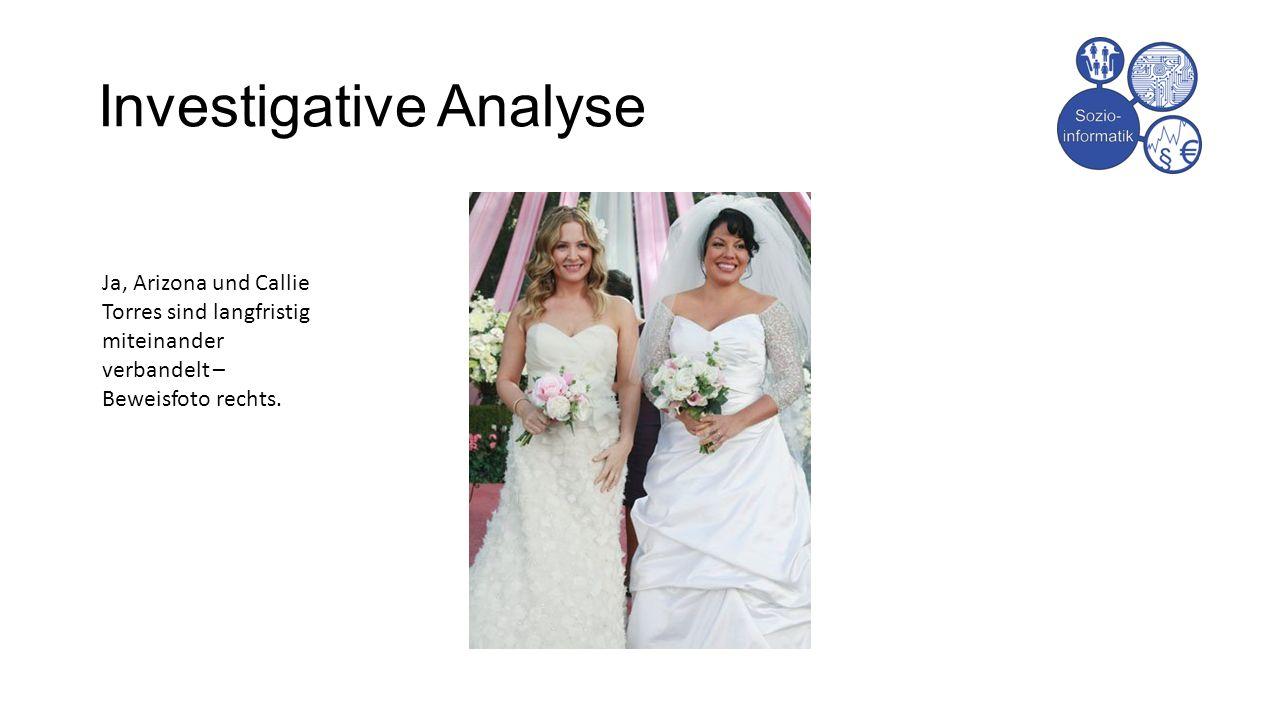 Investigative Analyse Ja, Arizona und Callie Torres sind langfristig miteinander verbandelt – Beweisfoto rechts.