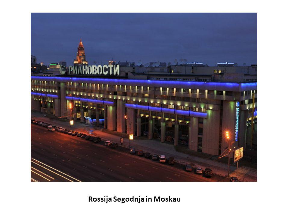 Rossija Segodnja in Moskau