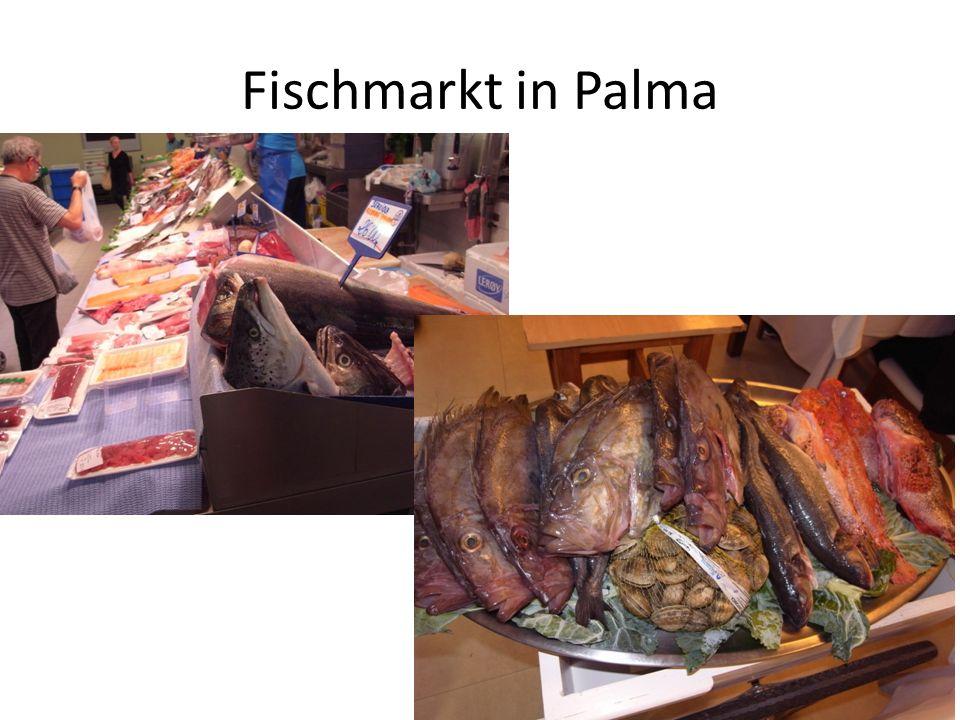 Fischmarkt in Palma